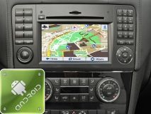 GPS навигация Mercedes-Benz ML-класс W164 (2005-2011) (Android)