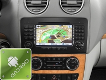GPS навигация Mercedes-Benz GL-Класс (X164) (2006-2012) (Android)