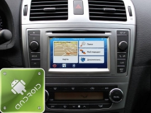 GPS навигация Toyota Avensis T27 (2011-2014) (Android)
