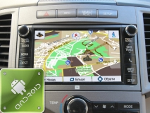 GPS навигация Toyota Venza 2012-2014 (Android)