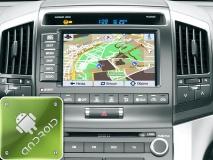 GPS навигация Toyota Land Cruiser 200 (Android)