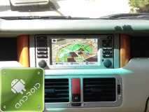 GPS навигация Land Rover - Range Rover (2005-2009) (Android)