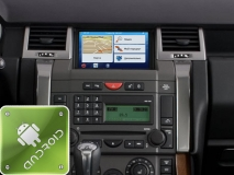 GPS навигация Land Rover - Range Rover Sport (2005-2009) (Android)