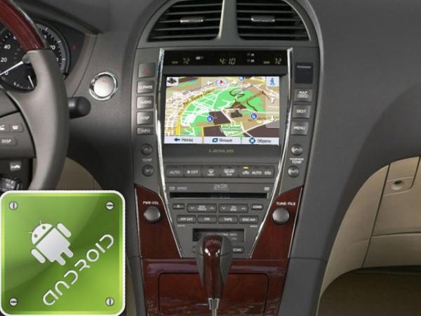 Мультимедиа и навигация на Lexus GS