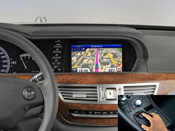 Gps mercedes benz s w221 2005 2013 for Mercedes benz navigation free download