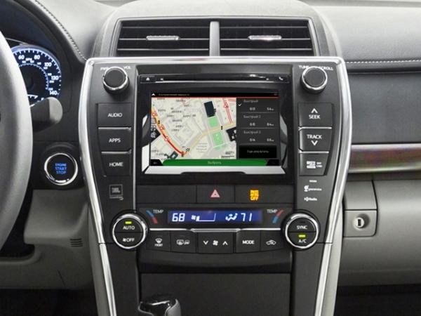 GPS навигация в Toyota Camry V55 (2015-2017). Навигационный Android блок с  картами Украины и Европы - GPS навигация для Toyota - Интернет магазин  автомагнитол